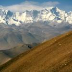 Fahrt zum Mount Everest