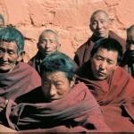 Pilger in Xigatse