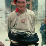 Straßenleben Lhasa, Bus